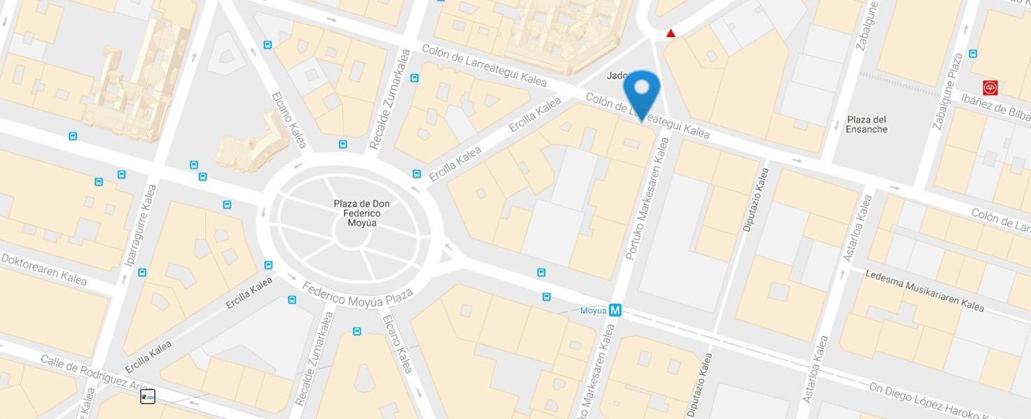 Mapa de ubicación Asecoex